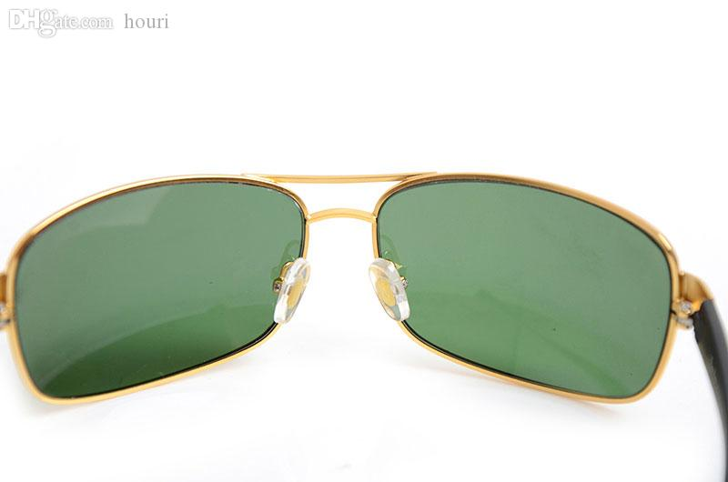 New Brand Sonnenbrillen Brand Designer Sonnenbrillen Damen Sonnenbrillen 3379 Glass Lens Herren Sonnenbrillen Mode Unisex-Brillen kommen mit Boxen