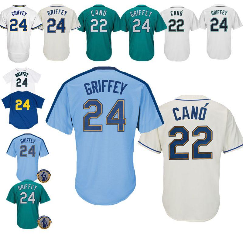 25c4b975d 2019 New 2019 Seattle Mariners Jerseys 22 Robinson Cano Jerseys Baseball  Jerseys Are On Sale Seattle Mariners From Dada da