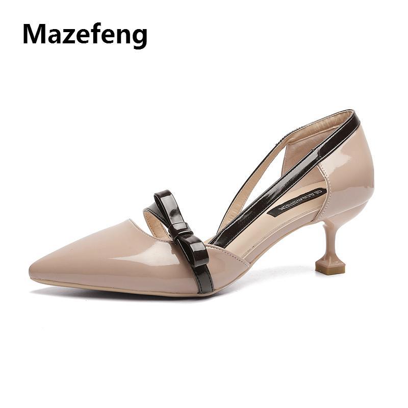 Multi Farbige Schuhe Damen Europäischen Spitz Braut 3cm 1