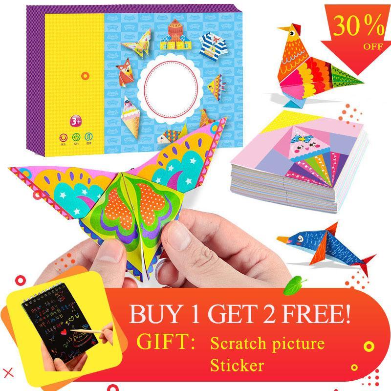 Enfants Interet Origami Livre Bricolage Papier Puzzles Vehicule De Bande Dessinee Vehicule Animaux Carton Puzzles Pour Enfants Apprentissage Jouets