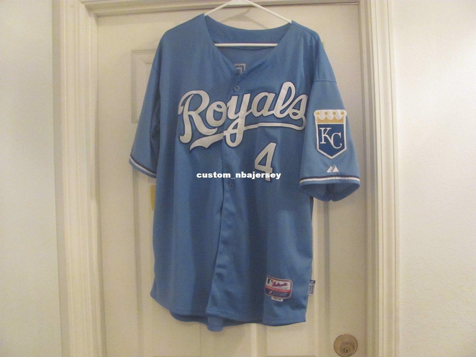 2019 Cheap Custom ALEX GORDON COOL BASE POWDER BLUE Jerseys Stitched Retro  Mens Jerseys Customize Any Name Number XS 5XL From Custom nbajersey 2a482124264