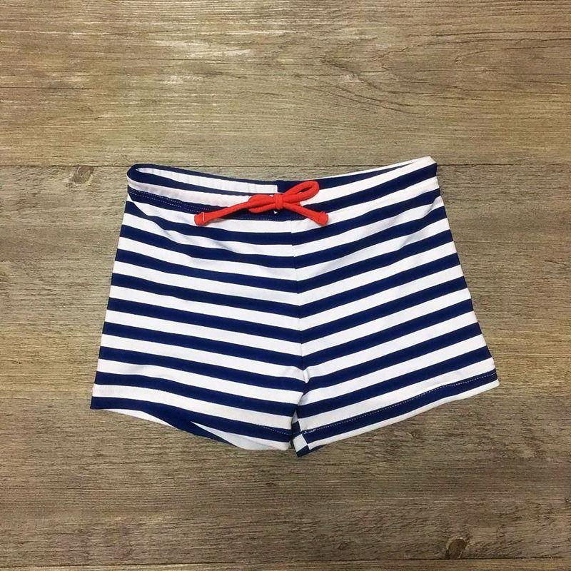 New Striped Fish Printed Children Swimming Trunks for Boys Swimwear Beach Wear Children Swimsuit Kids Bathing Suit for 2-8 Years
