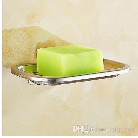 2019 Punching Type Stainless Steel Soap Dishes Wall Mounted Bathroom