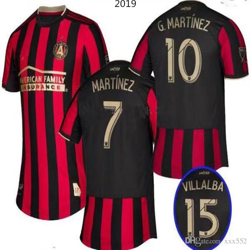 los angeles 706df 38346 2019 -2020 Parley MLS Atlanta United FC jerseys soccer jersey Football  shirt 19 20 MLS Parley Atlanta United jerseys MARTINEZ Football shirt