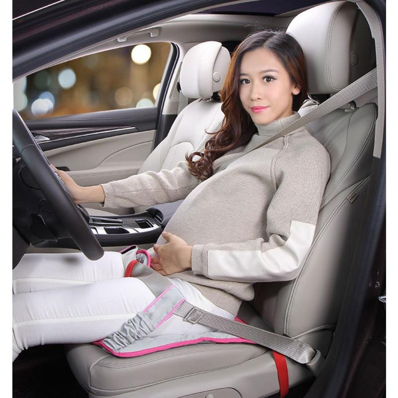 Car Seat Belt For Pregnant Woman Driving Safety With Car Seat Cushion Shoulder Pad Soft Strap Protection Cover Safety Belt