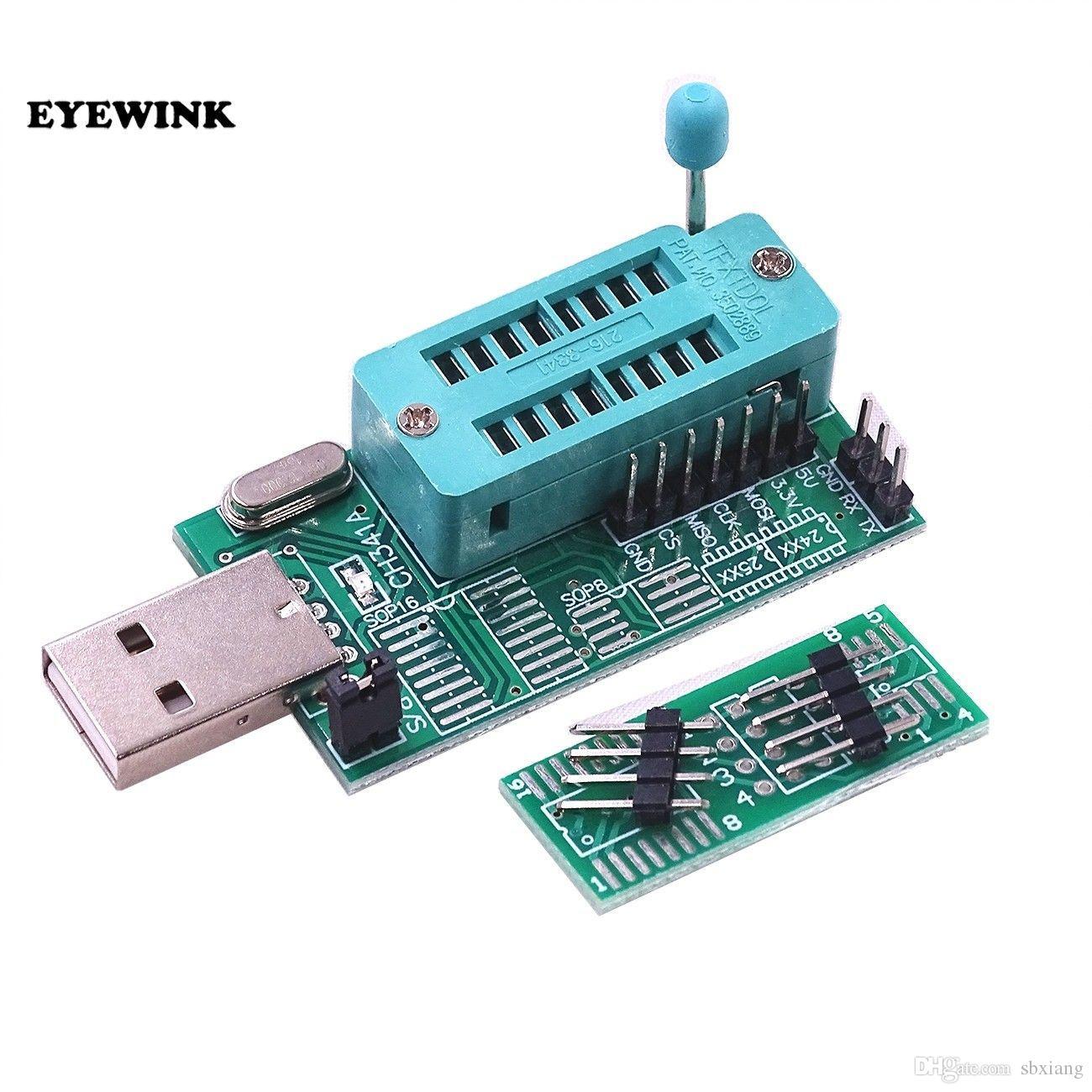 2019 DIY Kit Parts CH341A 24 25 Series EEPROM Flash BIOS DVD