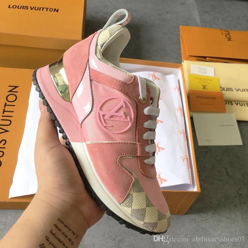 f015e8a146b Women Shoes Run Away Sneakers Footwears with Original Box M#25 Chaussures  de femme Lady Shoes Fashion Summer Low-Top Zapatos de mujer