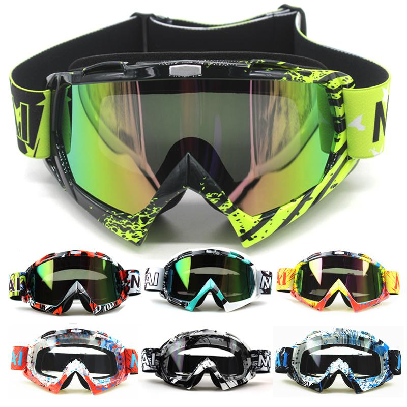 Motorcycle Goggles Glasses Oculos Cycling Mx Off Road Helmet Ski Sport Gafas For Motorbike Moto Dirt Bike Racing Goggles