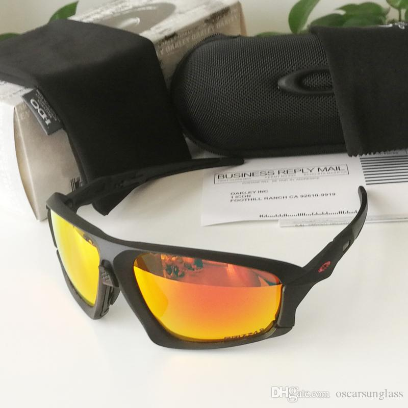 FIELD JACKET Brand Polarized mens designer sunglasses Mountain Bike Goggles Cycling Eyewear outdoor sport sunaglasses with box 9402 holbrook