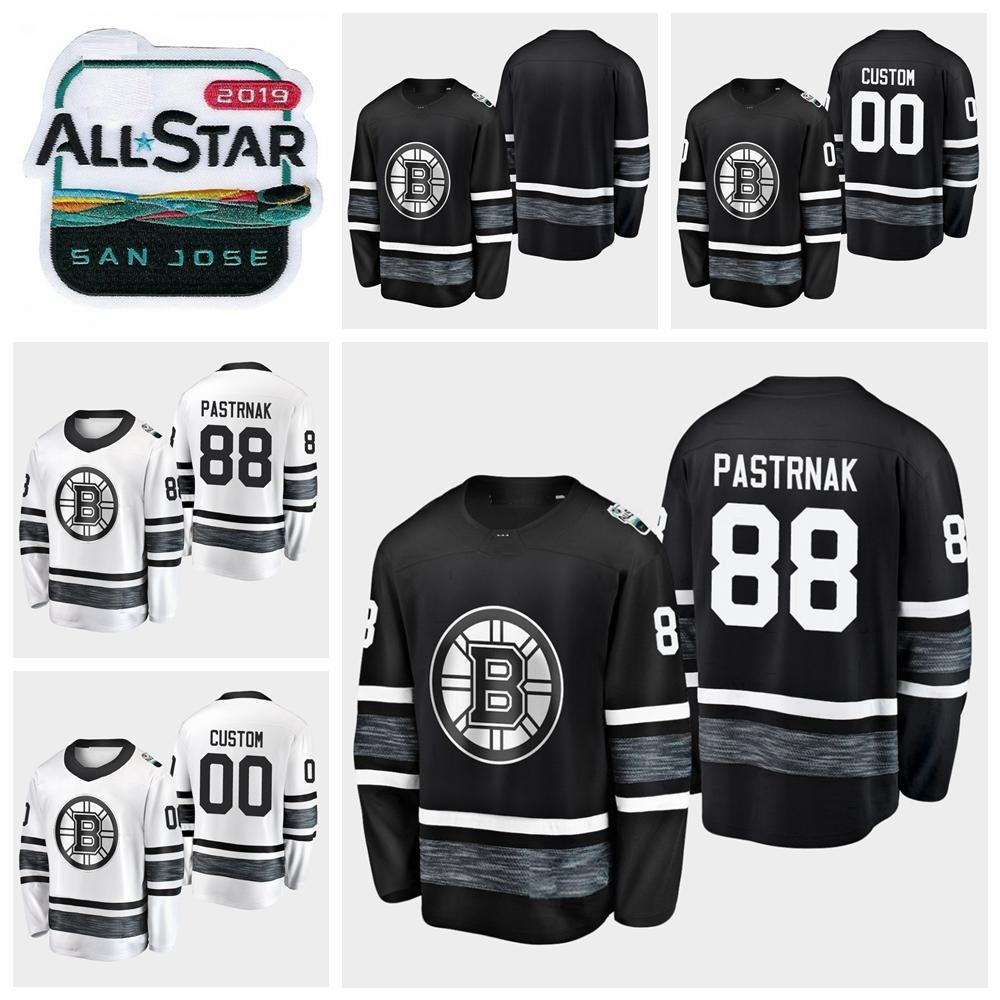 reputable site 42f8a 006a4 2019 All Star Game 88 David Pastrnak Customize Men Women Youth Boston  Bruins Hockey Jerseys Black White Jersey Stitched Shirts Best Quality