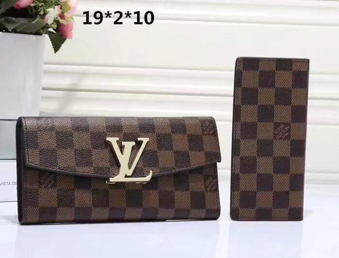 959bf6e6ab51 2019Long Style Supr Women And Man PU Leather Purse Multiple Wallet Damier  Graphite Soft Bifold Credit Card Holders Kubao Wallet Minibags Wholesale  Wallets ...