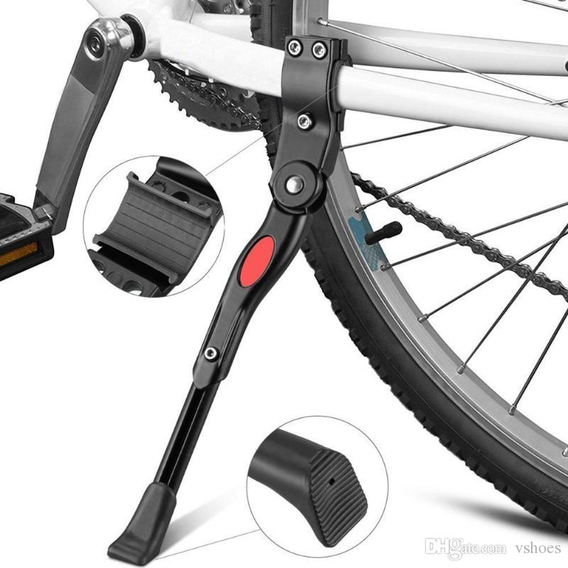 Cycling Accessories 34cm Adjustable MTB Road Bicycle Kickstand Parking Rack Mountain Bike Support Side Kick Stand Foot Brace #381966