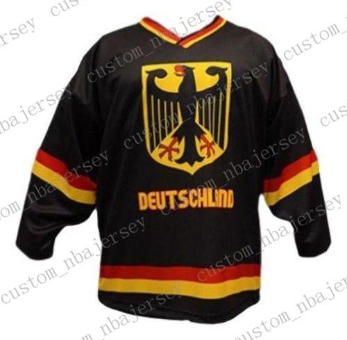 575ef68e2f6 2019 Custom Team Germany Hockey Jersey New Black Personalized Stitch Any  Number Any Name Mens Hockey Jersey XS 5XL From Custom nbajersey