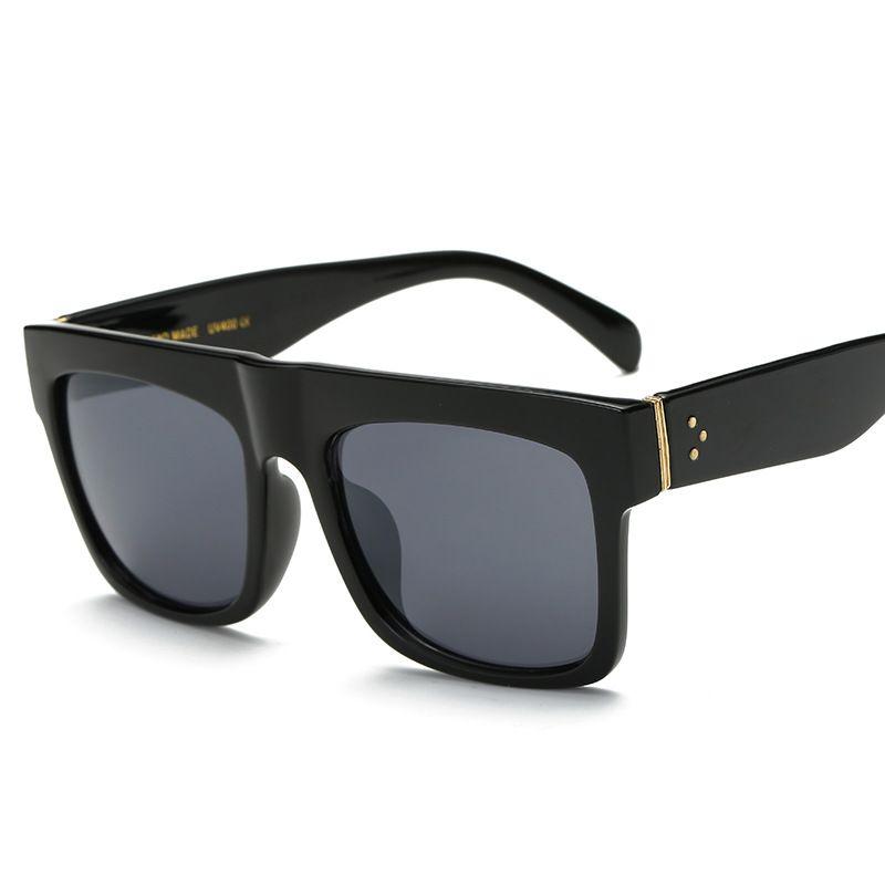 d0a2f633d6a Compre Gafas De Sol De Plástico Unisex Para Hombres   Mujeres Lentes De  Lentes De Sol Vintage A  12.18 Del Supaonline