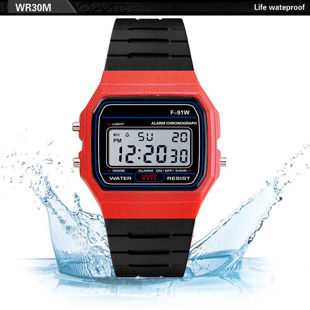 c3e7998e0ed1 Compre Reloj De Pulsera De Silicona Relojes De Los Hombres Impermeables LED  Ejército Del Deporte Digital Reloj Analógico Reloj De Pulsera Para Hombre  Reloj ...