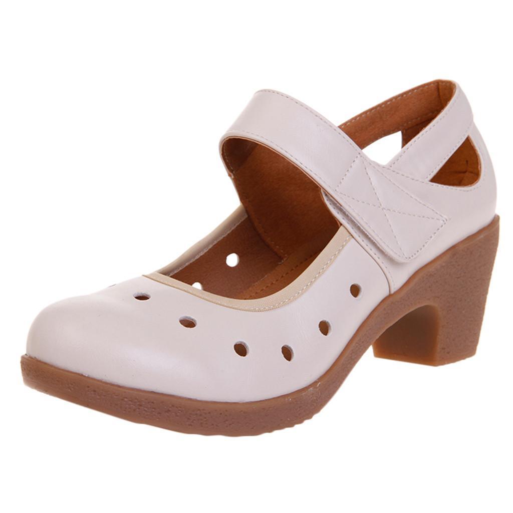 42bec15e Compre Zapatos Youyedian Mujeres Suelas Blandas Bailar Casual Transpirable  Moderno Sandalias De Tacón Alto Schoenen Vrouw Sandalen Met Hak # G25 A  $33.56 ...