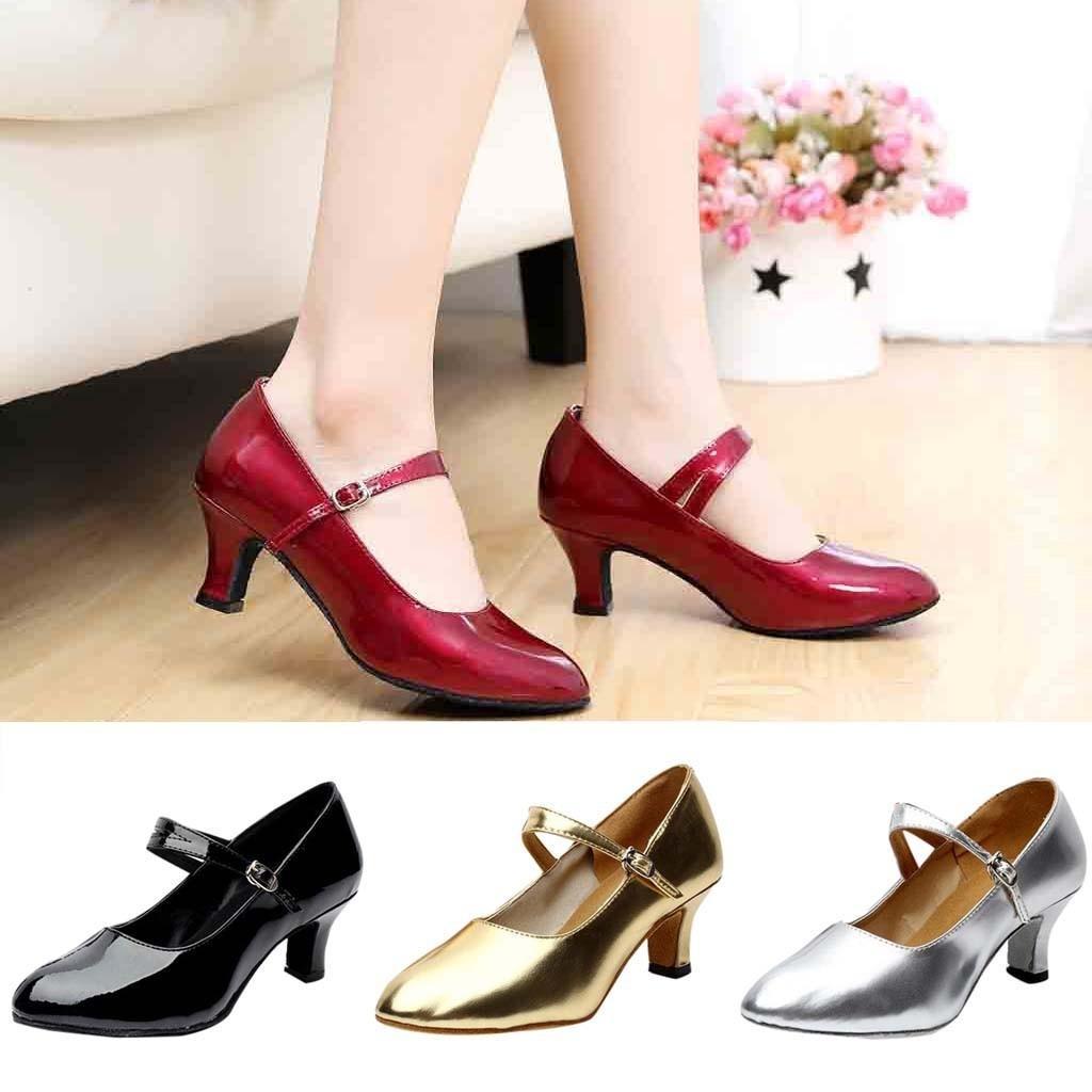 e59274202828 Designer Dress Shoes Women Leather Pumps Ladie's Block Heel Women Low Heels  Designer Women Luxury #xtn