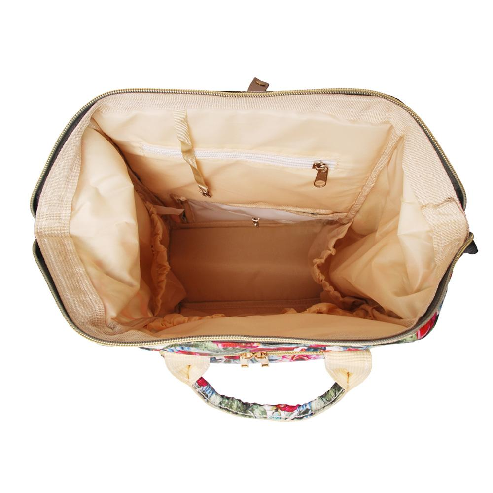 선인장 꽃 어깨 가방 도매 공백 대용량 선인장 기저귀 배낭 꽃 엄마 아기 기저귀 가방 DOM1069003