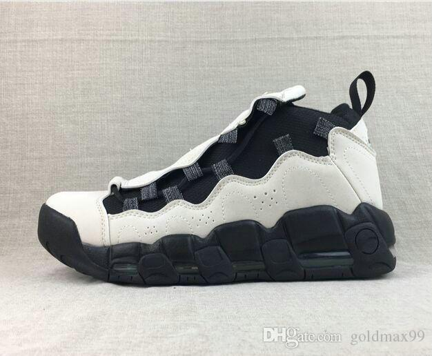 25ca4d5f7b03 2019 2019 AIRS MORE MONEY MO MONEY D Basketball Shoes 96 QS Sneaker Men S  Couples Running Shoes Trainers Sport Footwear Women S Athletic Sneakers  From ...
