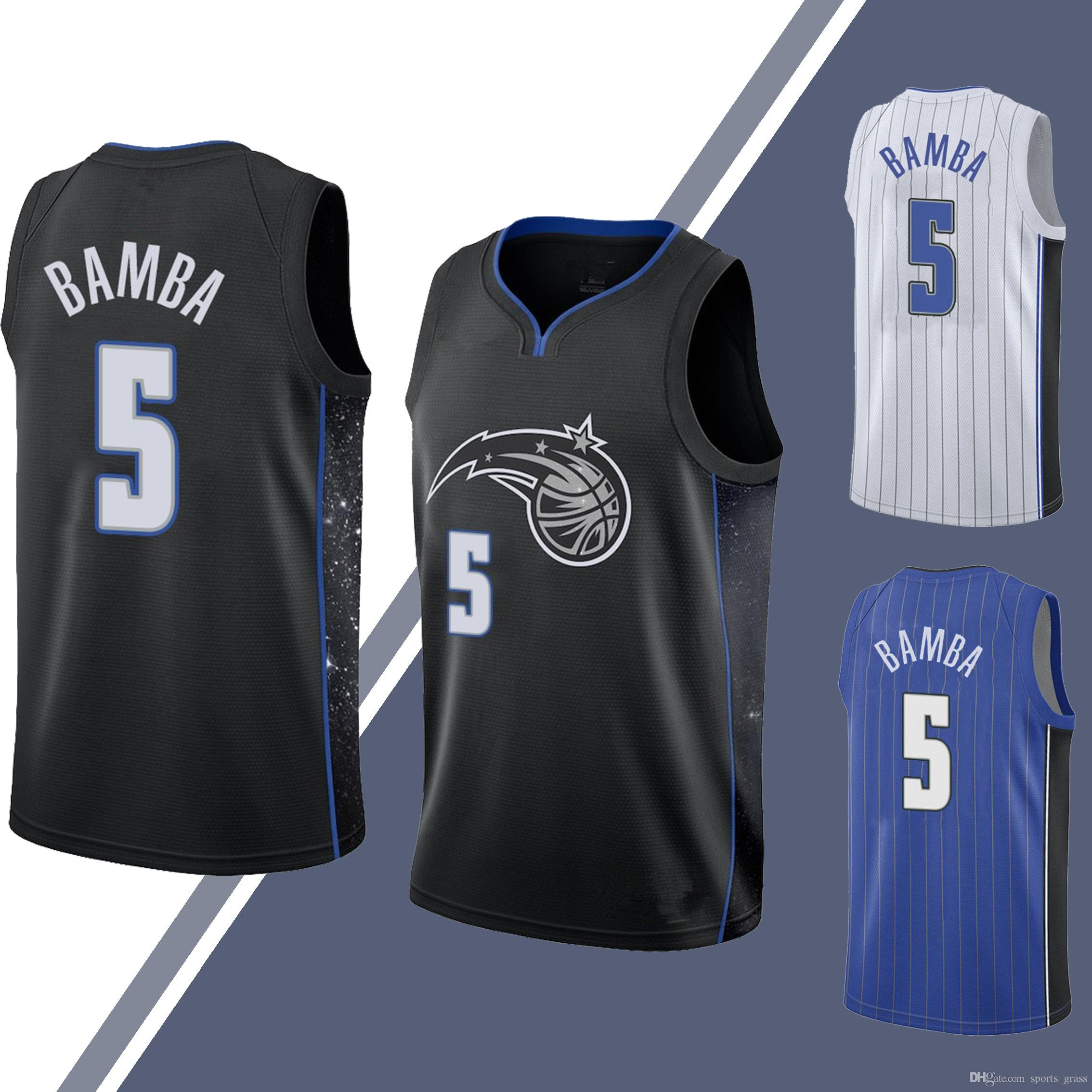 check out 04f0e aa4cc Mohamed 5 Bamba jersey Tracy 1 Mcgrady Shaquille 32 O Neal Tim 1 Hardaway  retro jerseys