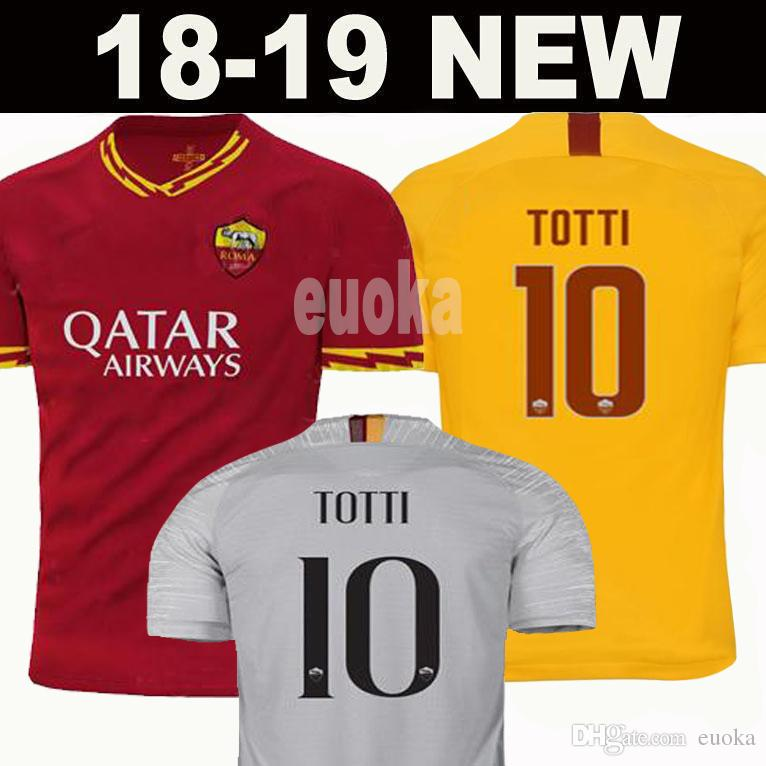 New 2020 DZEKO PEROTTI PASTORE ZANIOLO soccer jerseys rome 2019 TOTTI  jersey 19/20 football kit shirt DE ROSSI JESUS as maillot de foot roma