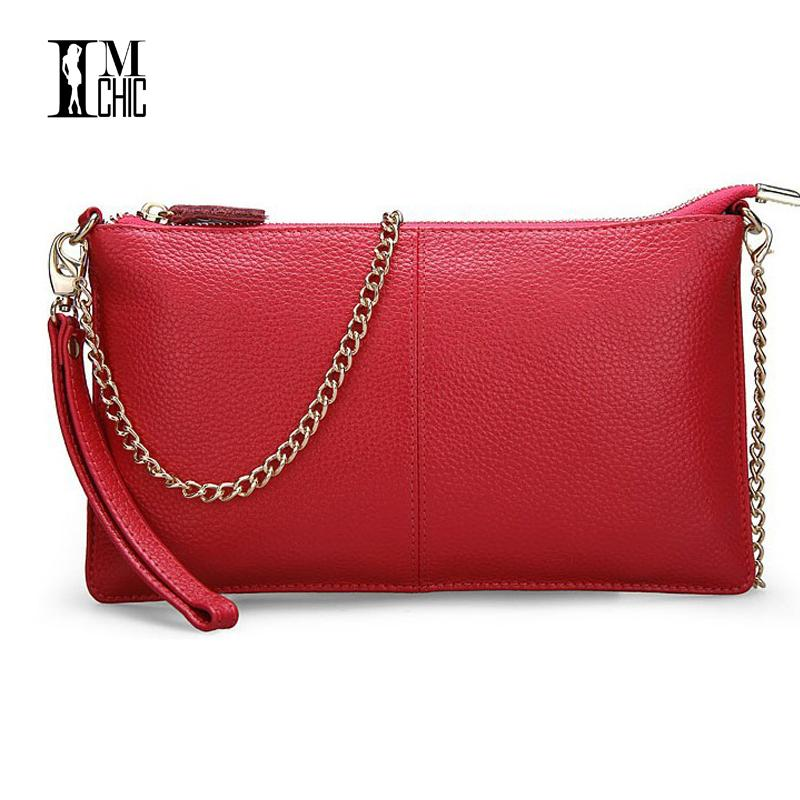Soft Genuine Leather Ladies Chain Shoulder Bag Real Cowskin Women Small  Clutch Bags Classic Girl Gift Evening Party Handbags Handbag Messenger Bags  From ... cb7ae0243764d