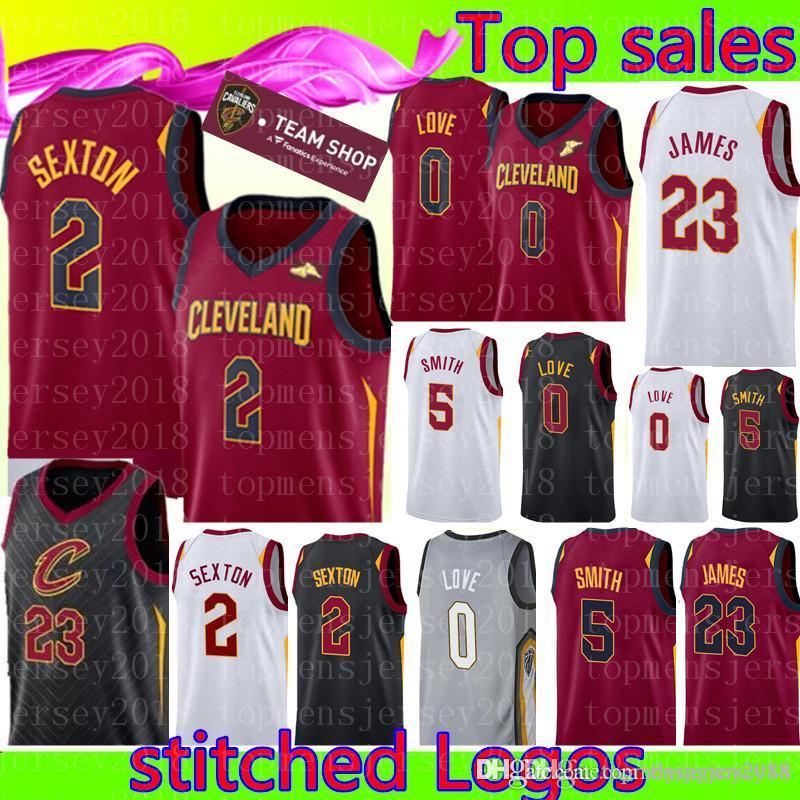 6b4950ea609 2019 New Cleveland Collin 2 Sexton Cavaliers Jersey Mens Kevin 0 Love JR 5  Smith 23 Basketball Jerseys From Flyingjersey88, $20.94 | DHgate.Com