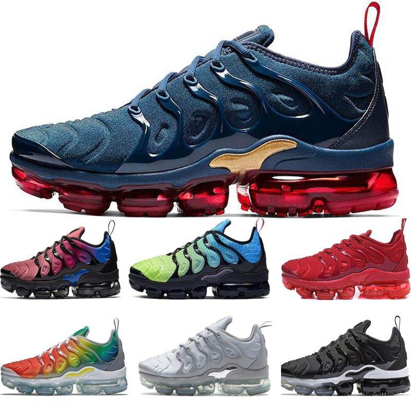 New Arrivals Chaussure TN Plus Running Shoes 2018 Tn Men