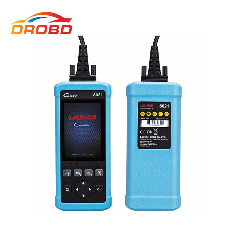 2017 New Launch DIY Scanner CReader 8021 CR8021 Full OBD2 Scanner/Scan Tool Diagnostic OBD+ABS+SRS+Oil+EPB+BMS+SAS+DPF