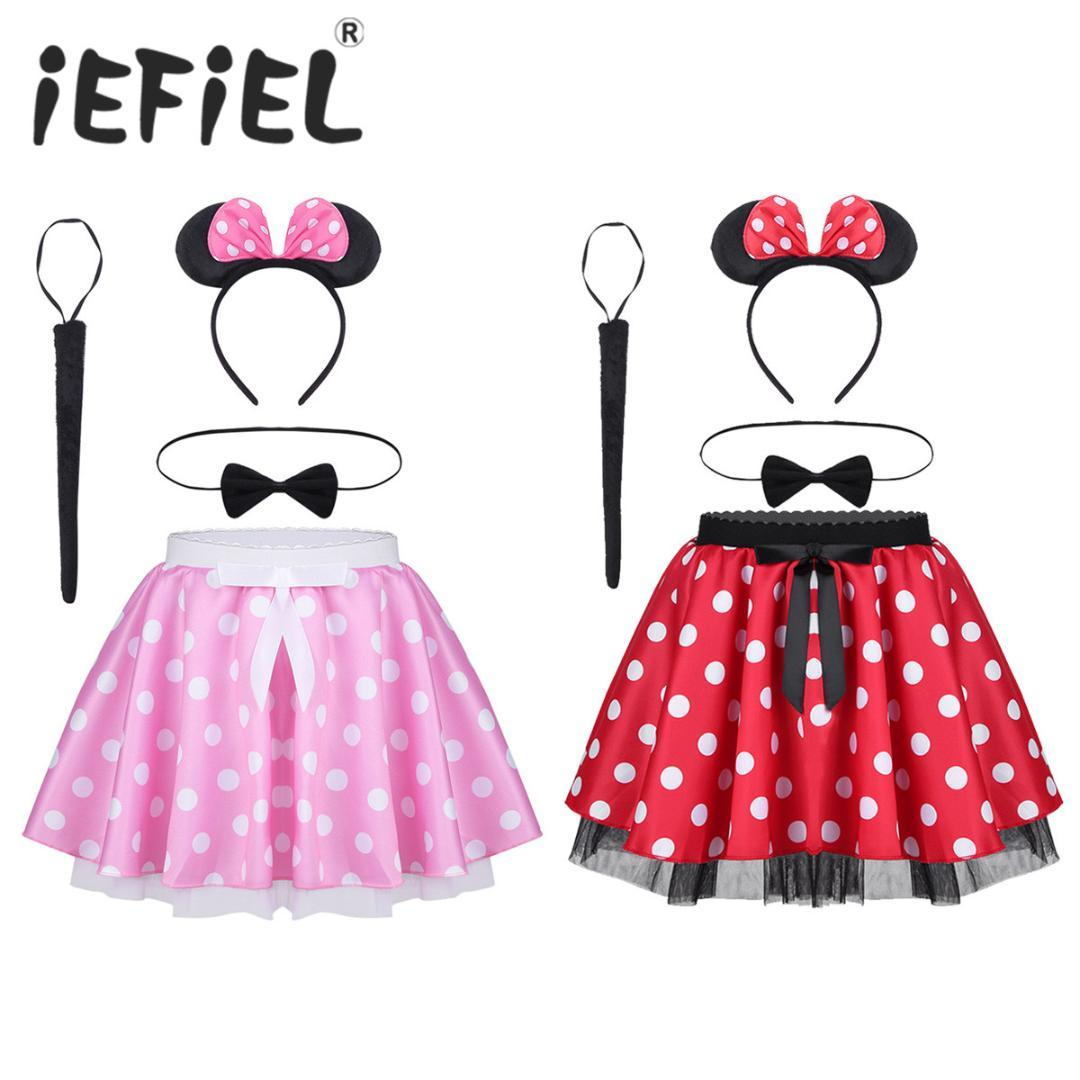 2018 Infant Baby Girls Polka Dots Printed Bowknot Skirt Outfits With ...