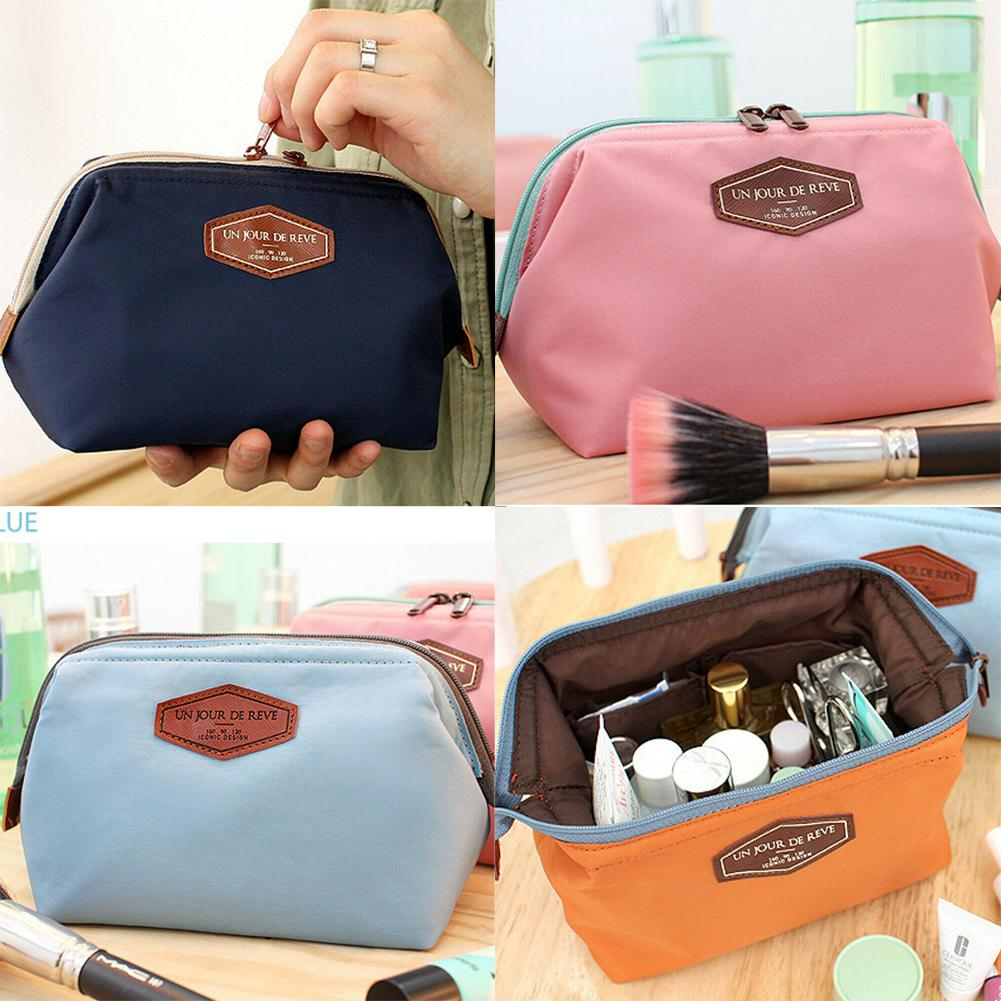 2019 New Fashion Travel Cosmetic Makeup Toiletry Purse Holder Beauty Wash Bag Organizer Pouch