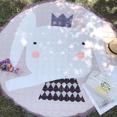 Outdoor Carpet Waterproof Children Floor Mat Room Decoration Cotton