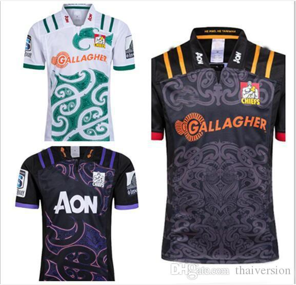 bc6034c1282 2019 News Chiefs Super Rugby Jersey 2018 2019 Home Away Rugby Jerseys NRL  National Rugby League Shirt Chief Training Shirts Size S 3XL From  Thaiversion, ...