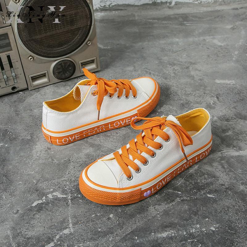d38a322993 Scarpe di tela Sneakers da donna con lacci Sneakers in tessuto di cotone  Scarpe da donna per donna Fashion 2019 Scarpe da donna per cucire Shallow