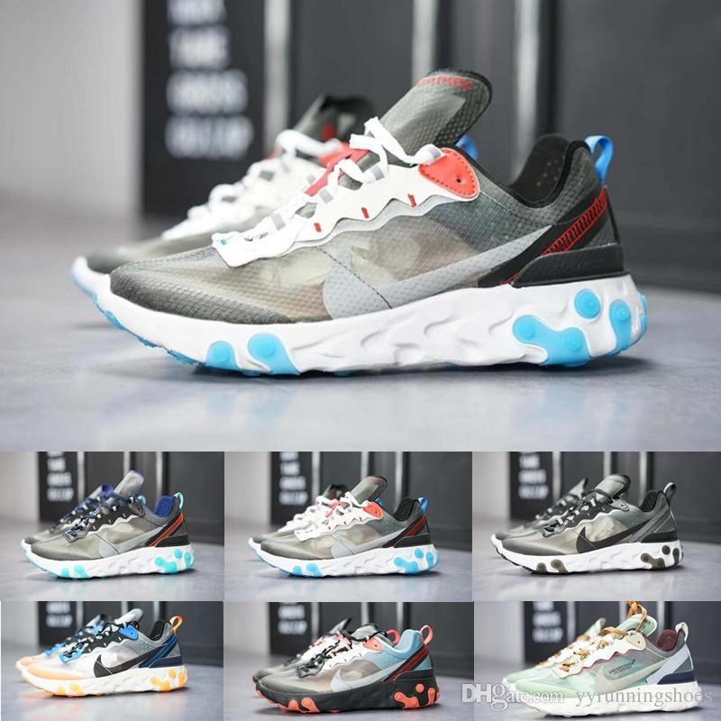Air Element Venir Bleu Rouge De À Undercover Baskets Trainer Chaussures Luxe React Course Gris Epic Nike Blanc 3 0 X 87 Noir sQrdChtx