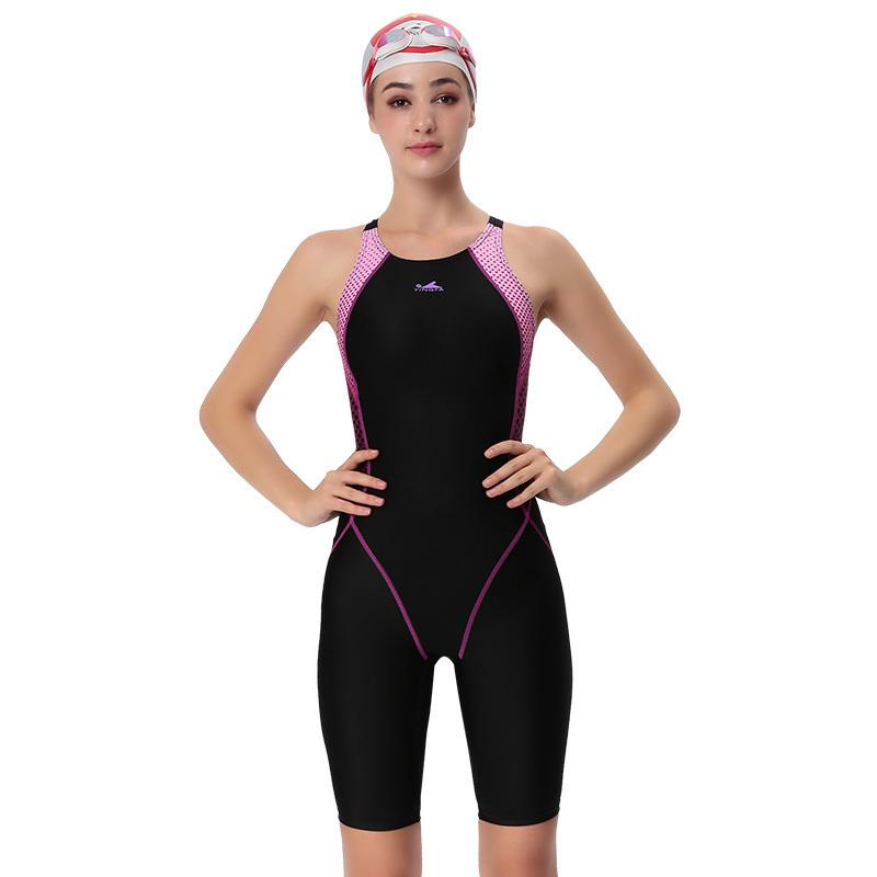 0d6443611e 2019 Yingfa Swimwear Women One Piece Competitive Swimsuit Girls Sport  Sharkskin Racing Competition Swimming Suits Female Bathing Suit C19030201  From Tai002, ...