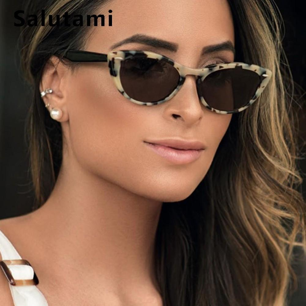 e87f13a04b Vinatge Rivet Cat Eye Sunglasses Women 2019 Luxury Brand Black Round Sun  Glasses Men Classic Eyewear Small Frame Sexy Shades Police Sunglasses  Serengeti ...