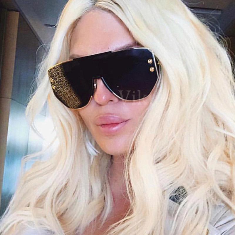 94a9934d9 2019 Unisex Celebrity Fashion Sunglasses Women 2019 High Quality France Brand  Designer Luxury Sun Glasses Black Square Sunglass Women C19042001 From  Tong06, ...