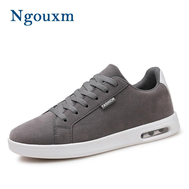 Ngouxm 2018 New Men Casual Shoes Spring Autumn Lace Up Fashion Flats ... d78be796dac8