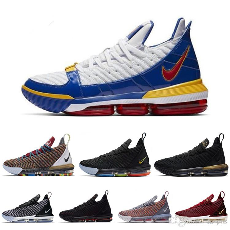 6e6b671fa1a5 2019 2019 New Lebron 16 Basketball Shoes Arrival Sneakers 16s Mens Casual  King James Multicolor Sports Shoes LBJ EUR 40 46 From Mvpus