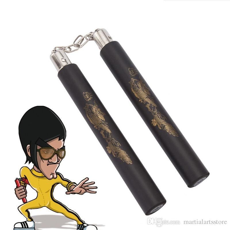 3d2d67d14 Bruce Lee Kung Fu Nunchakus Martial Arts Foam Nunchucks With ...