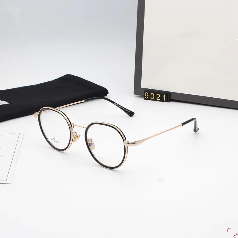 a527034a93 Compre 2018 Gafas Redondas Hombres Mujeres Marcos De Anteojos Para Anteojos  Recetados / Decoración Gafas Lente Transparente Lente Vintage Retro A  $54.83 Del ...