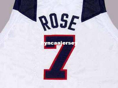 online store 0de24 e3565 Cheap Mens CUSTOM NAME & # TEAM DERRICK ROSE JERSEY NEW ANY SIZE XS - 5XL  Retro Basketball Jerseys NCAA College