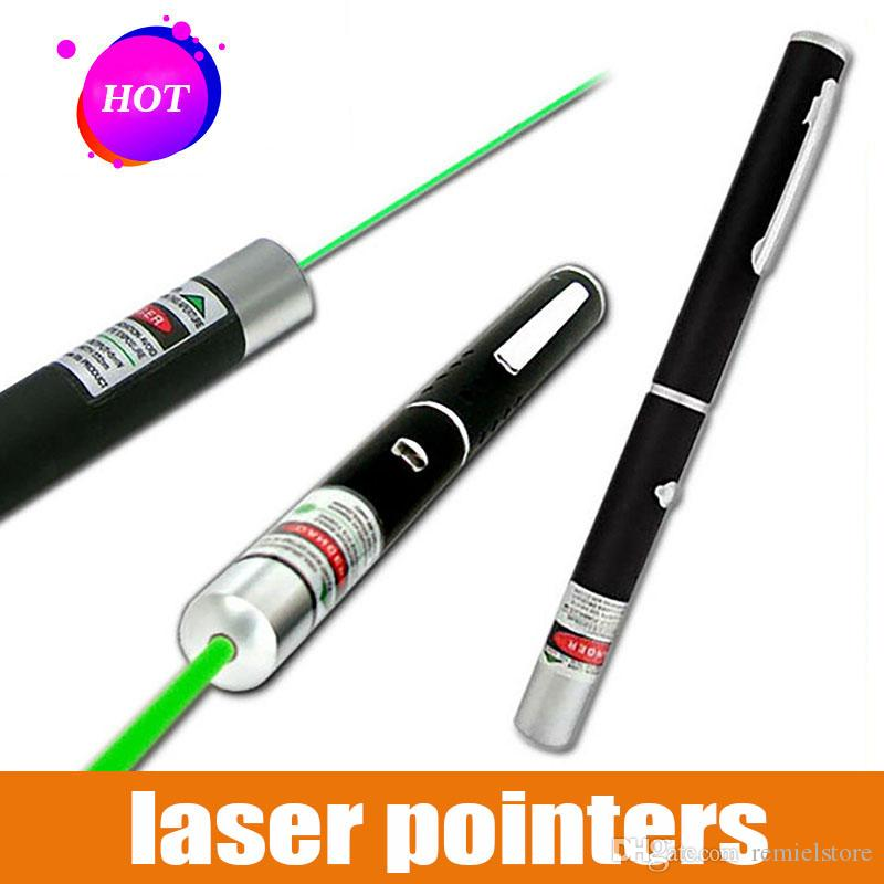 Hunting Light 532 NM 5mw Green Laser Sight Laser Pointer High Powerful Device Adjustable Focus Lazer laser Pen Head Burning