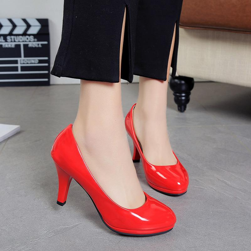 121ed611c019eb 2019 New Women Shoes Pumps High Heels Ladies Slip On Red Bottom Sexy Shoes  Woman Weddding Elegant Best Sellers Plus Size 34 42 Boat Shoes For Men Navy  Shoes ...