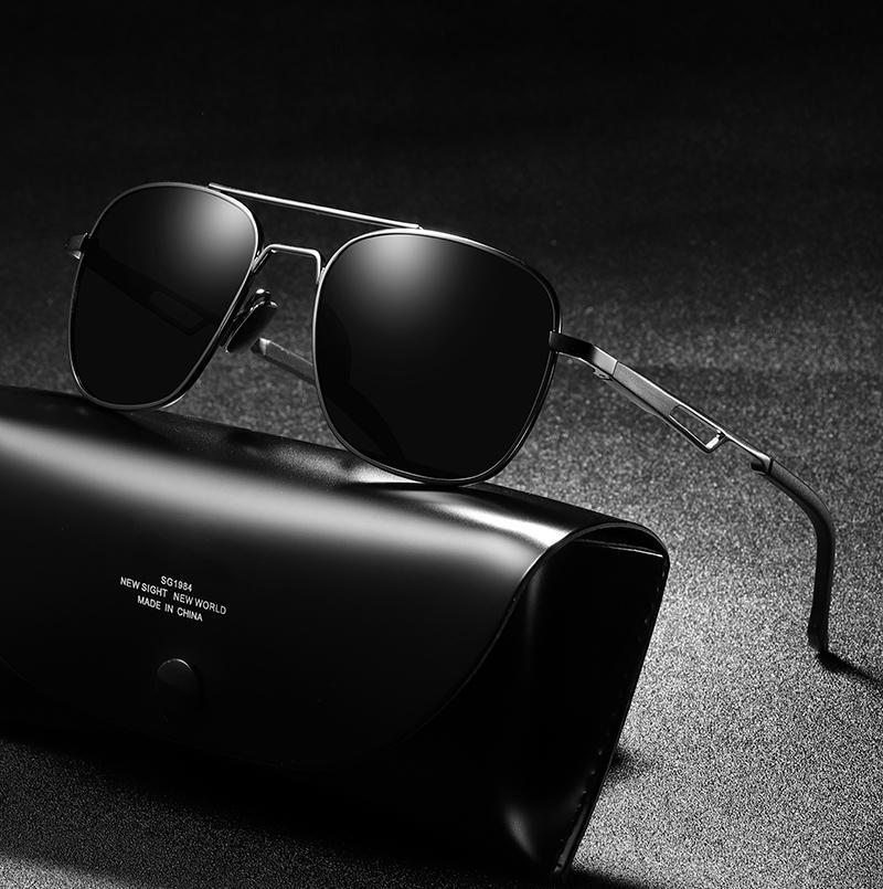 df895fb3067fc Compre Jackjad 2019 Homens Da Moda Estilo Quadrado Da Aviação Óculos  Polarizados Condução Piloto Marca Design Óculos De Sol Oculos De Sol A560  De Shanjumou, ...