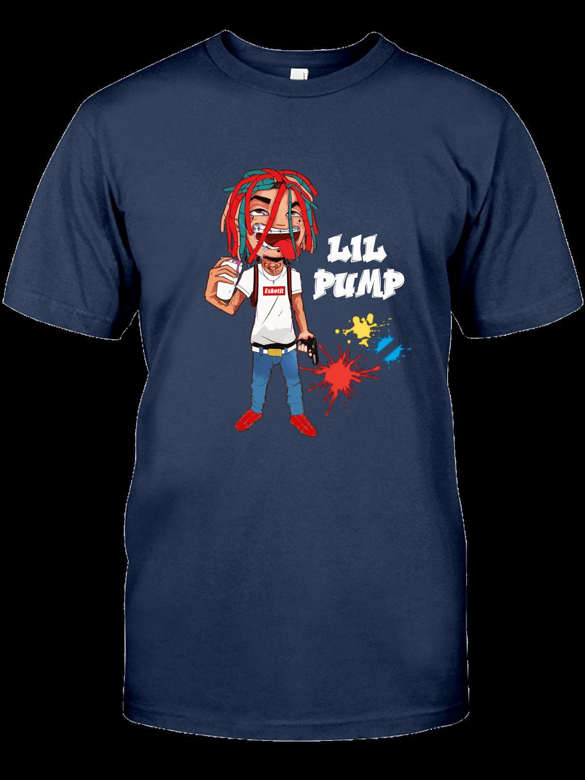78fc5a79f35 Lil Pump T Shirt Esskeetit Money Rap Singer Hip Hop Music Men S T Shirt.00  Mens Pride Dark T Shirt Suit Hat Pink T Shirt Designer Mens T Shirt Really  Cool ...