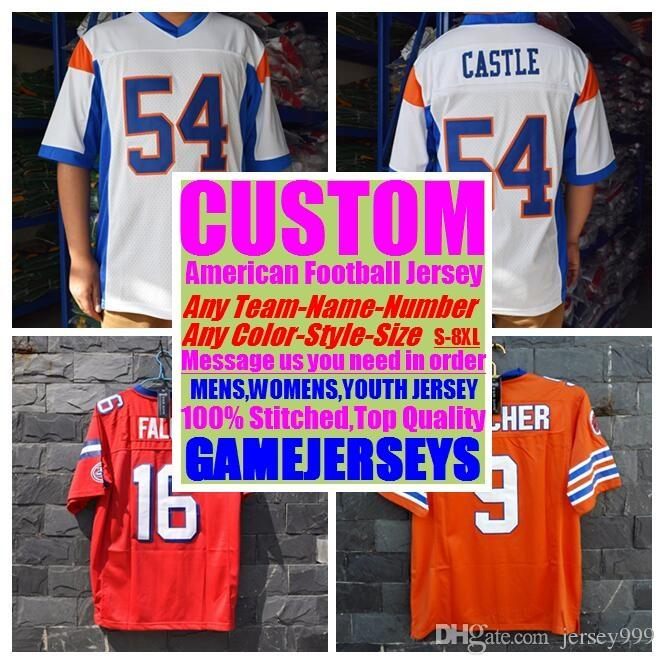 timeless design 0ccc1 def3d Custom american football jerseys college cheap authentic color rush sports  jersey stitched mens womens youth kids 4xl 5xl 6xl 7xl shirts