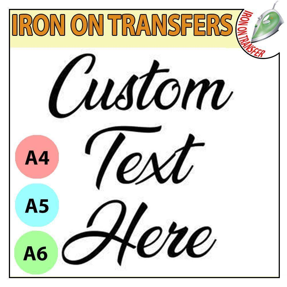 Custom Iron On Stickers For T Shirts – EDGE Engineering and