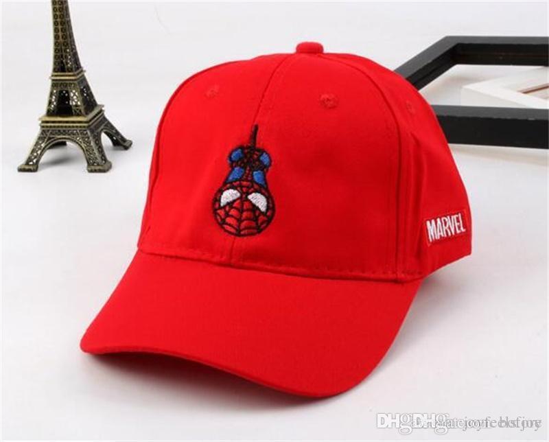 2019 2018 Fashion New Baby Snapback Hats Cartoon Baseball Cap Outdoor  Adjustable Caps Spider Man Designer Hats From Bofjoy c637e6b58eb9